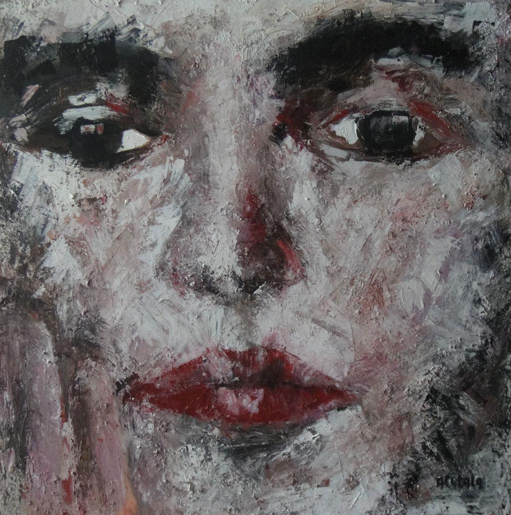 Cuadro Mujer de Espaldas II | Pintor Alicantinos